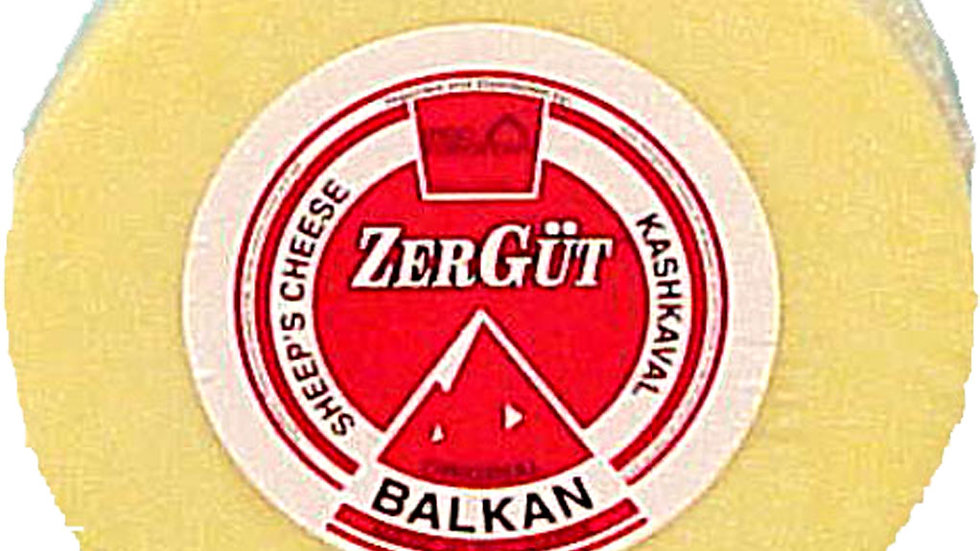 Zergut Bulgarian Kashkaval 1 kg