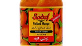 Sadaf Pickled  Mango 14.8oz