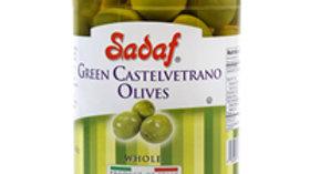 Sadaf Green Castevetrano Sicillan Olives 12oz