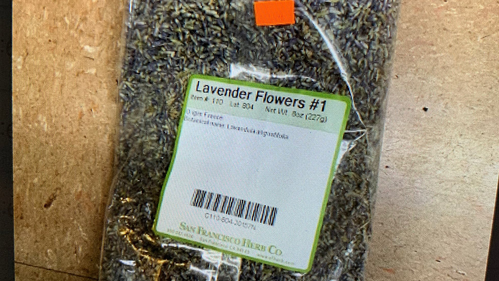 Lavender Flower #1 8 oz