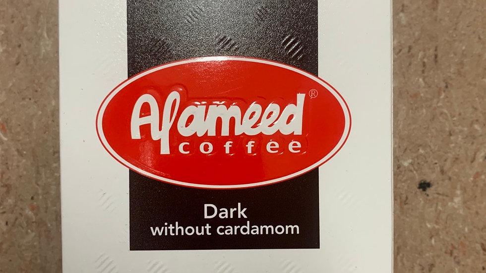 Al Ameed Dark without Cardamom 8 oz