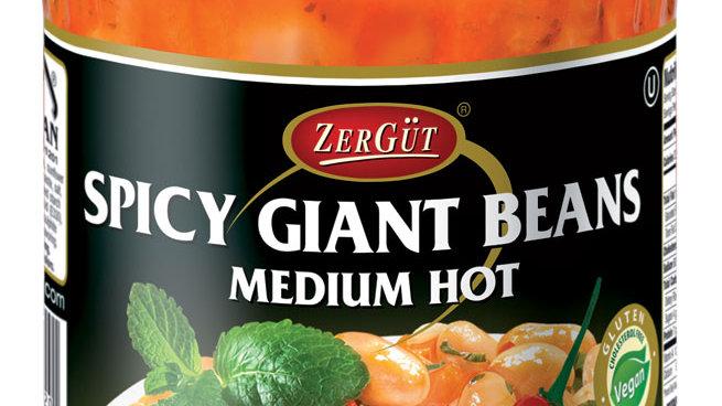 Zergut Spicy Giant Beans in Tomatoe Sauce 19 oz