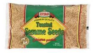 Ziyad Toasted Sesame Seeds 12 oz