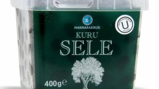 MB Gemlik Black Olive Kuru Sele 400g