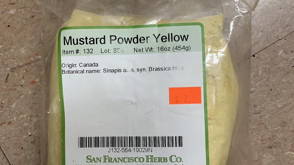 Mustard Powder Yellow 1 lb