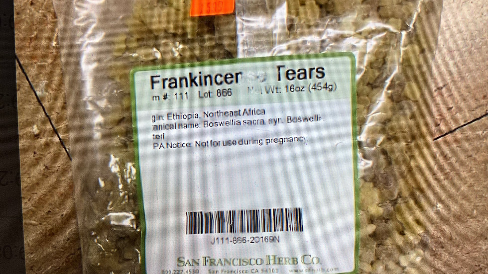Frankincense Tears 1 lb