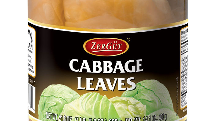 Zergut Cabbage Leaves 24 oz
