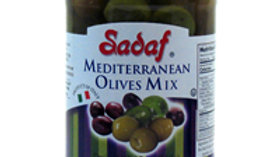 Sadaf Mediterranean Olives Mix 9oz