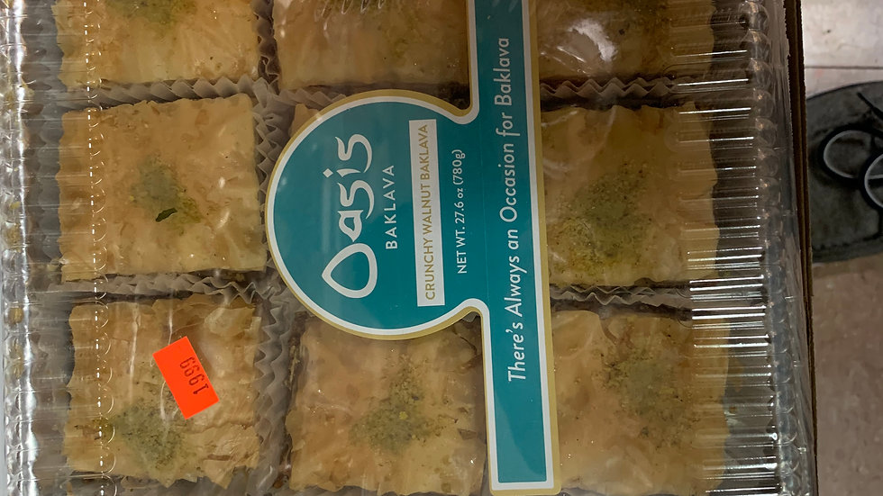 Oasis 15 pc. Walnut Baklava 27.6 oz