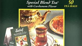 Sadaf Special Blend Tea Cardamom 50 Tea Bags