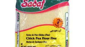 Sadaf Chick Pea Flour Fine 16oz