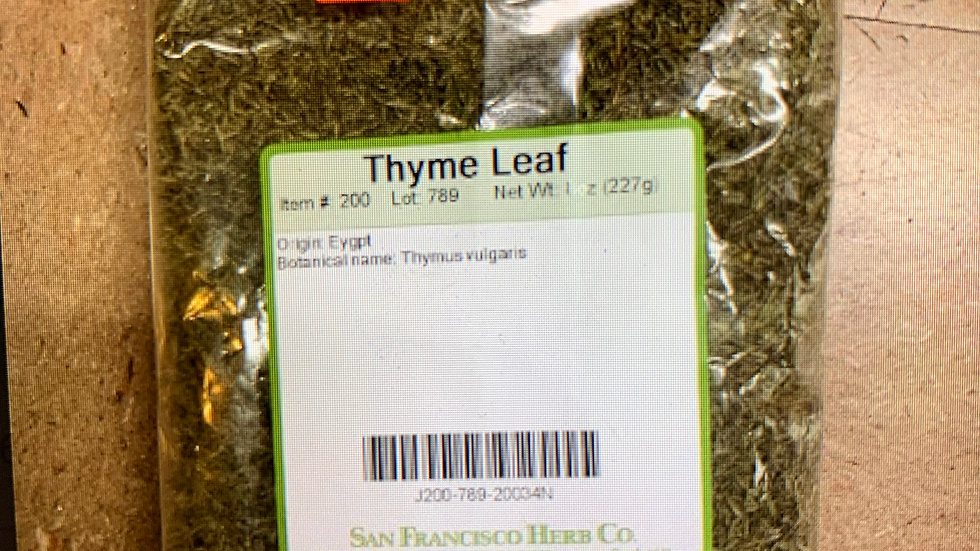 Thyme Leaves 8 oz