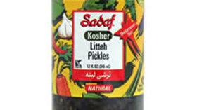 Sadaf Kosher Litteh Pickles 12oz