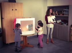 Atelier marionnettes intergénération