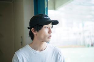 映画監督 河内彰のオフシャル写真を撮影