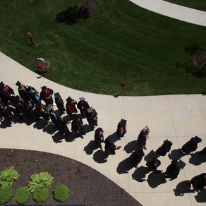 Caps, Gowns, and Masks: Bishop Community Anticipates a Combined Commencement