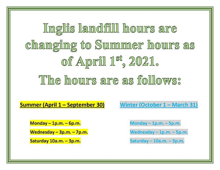 Inglis landfill hours.jpg