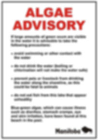 Algal Advisory Sign.JPG