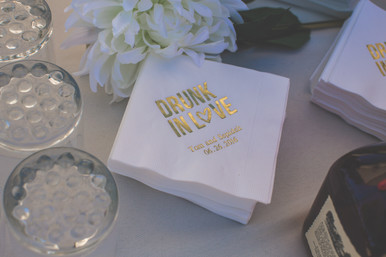 Drunk in Love-Custom Cocktail Napkins