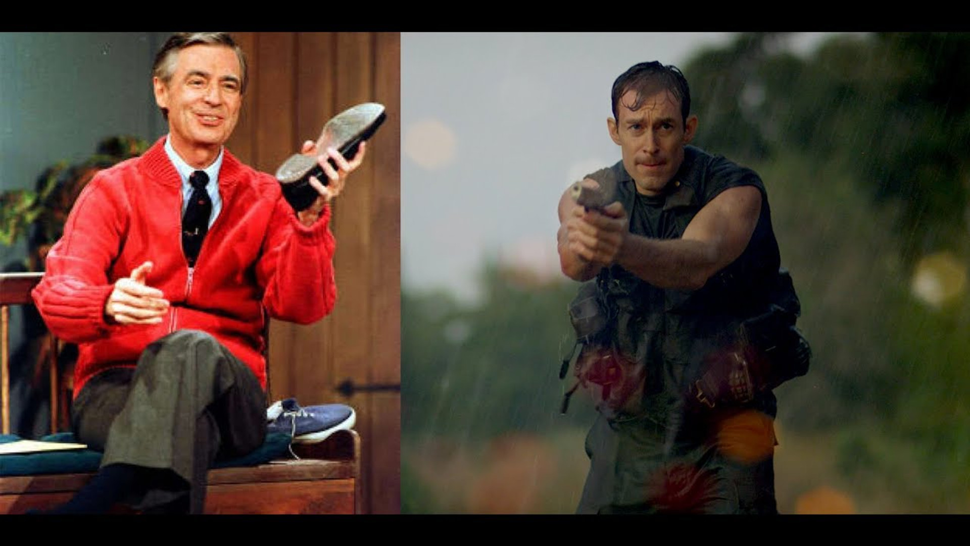 """Mr. Rogers: A War Hero"""