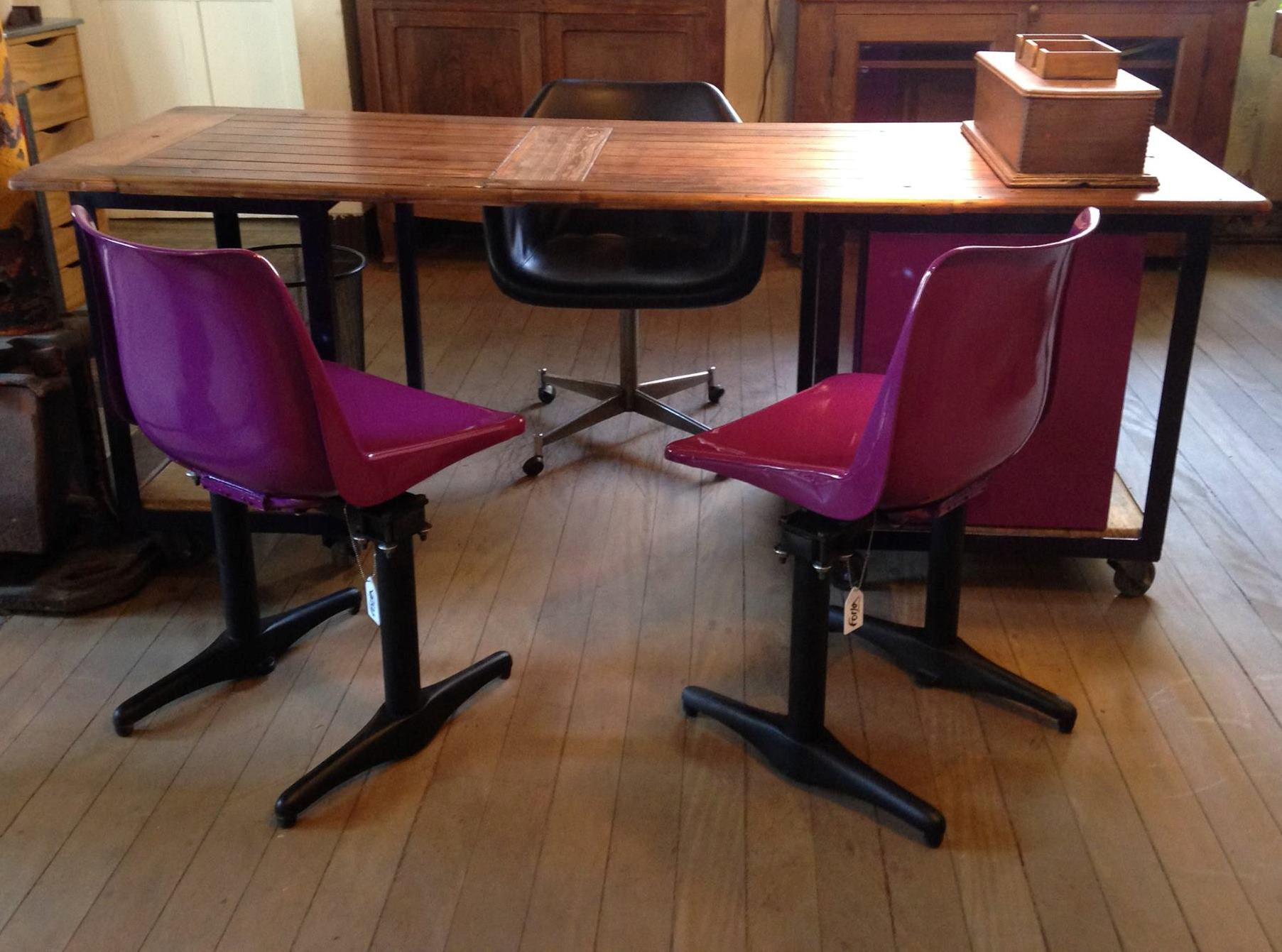 Cadeira e Mesa Forja