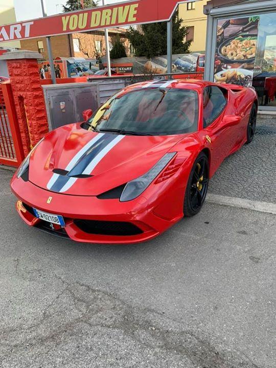 Driving a Ferrari in Italy is a dream come true.