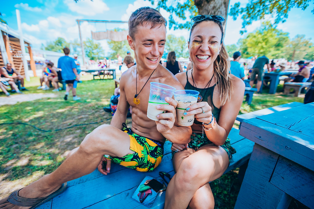 If you're visiting Bonnaroo for the first time, you need to stay hydrated.