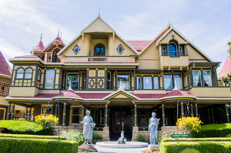 The Winchester Mystery House is one of the most haunted places in America.
