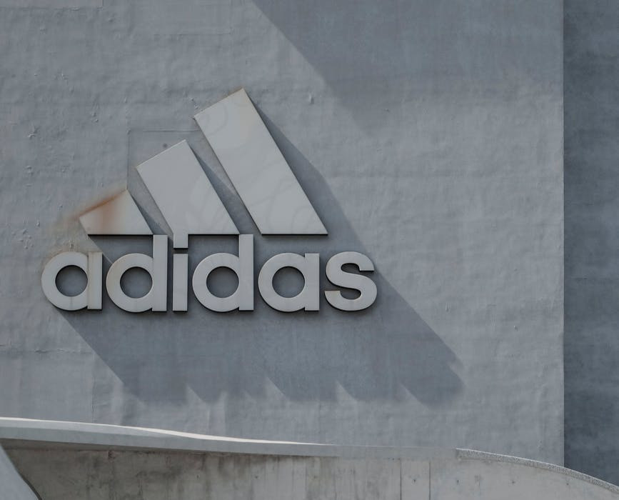 It's common to see rappers in commercials to support brands like Adidas.