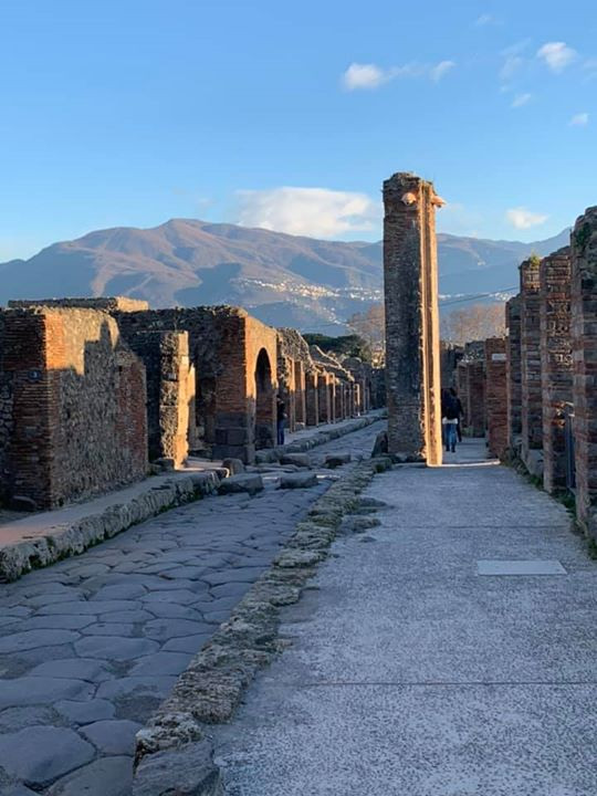 If you spend two weeks in Italy, you should see Pompeii.