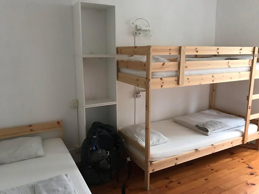 Jacob's Hostel is a great Caminho Portugues sleep spot.