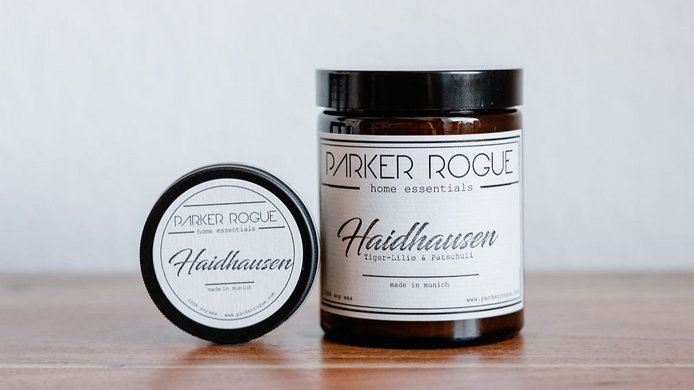 Haidhausen - Tiger-Lilie & Patschuli