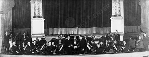 Enrico Leide with the Howard Theater Orchestra