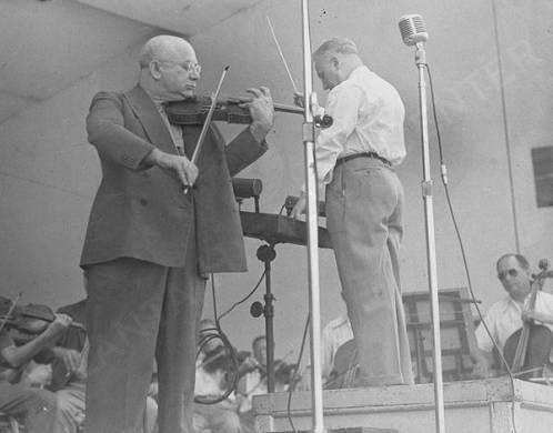 Enrico Leide and Mischa Elman