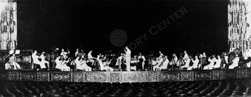 Enrico Leide with the Fox Theater Orchestra