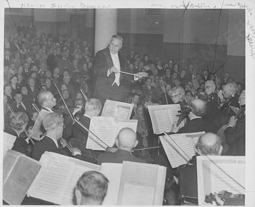 Enrico Leide and the American Symphony Orchestra