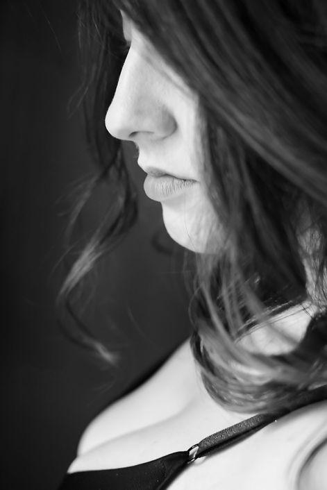 Client Portrait session images with testimonials