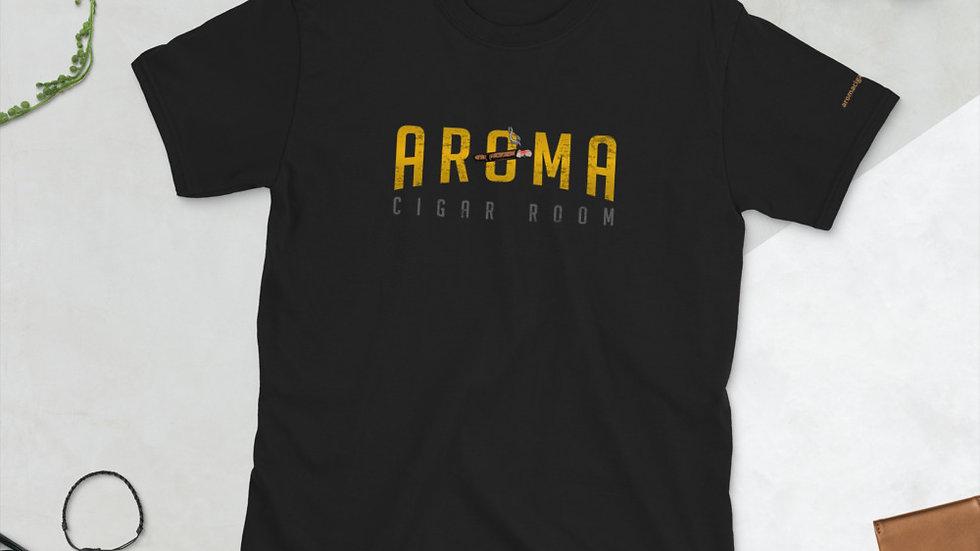 Aroma Cigar Room Short-Sleeve Unisex T-Shirt