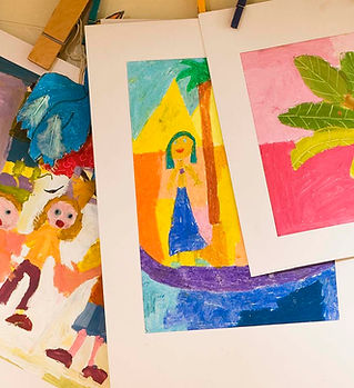 Kids' Paintings