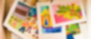 dibujos de niños coloridos
