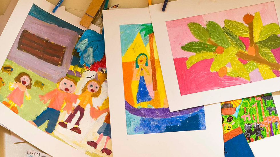 Basic Drawing and Painting for Grades K-2 (10:00)