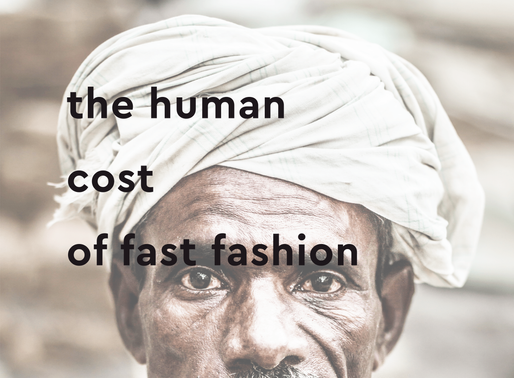 Fast Fashion 102: The human cost