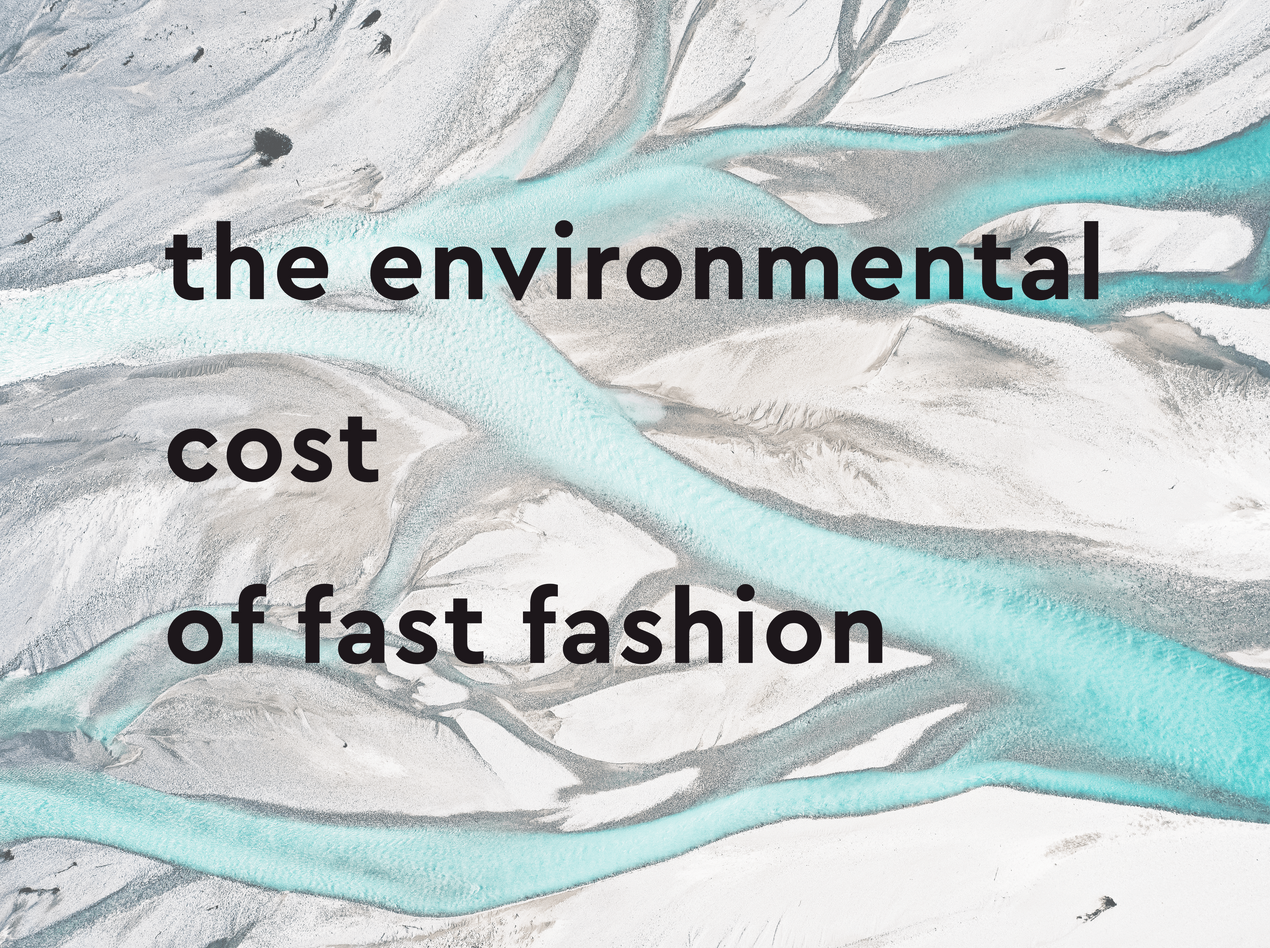 environment fashion industry pollution sustainability