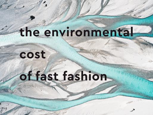 Fast Fashion 103: The environmental cost