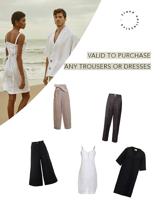 Gift any Trousers or Dresses & Get 20% off