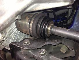 Front Axle Repair