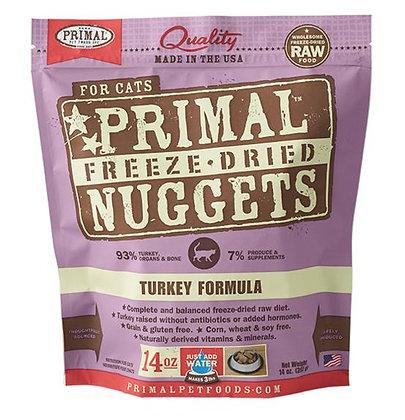 Primal FELINE Freeze-Dried Turkey Formula ( 14oz X 2packets )