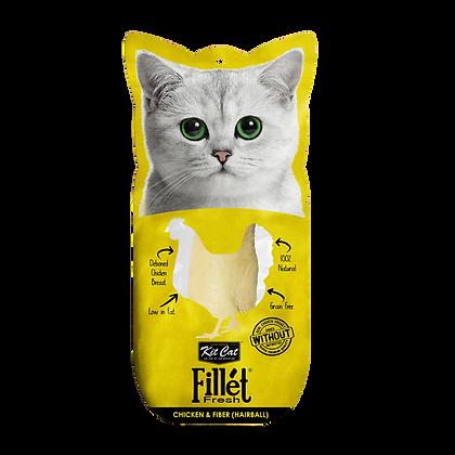 Kit Cat Fillet Fresh Chicken And Fiber (Hairball)