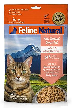 Feline Natural Freeze Dried Lamb & Salmon Feast ( 320g/ 960g )