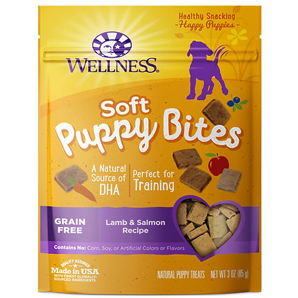 Wellness Puppy Bites Soft Lamb & Salmon ( 3oz )
